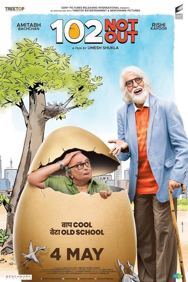 102 Not Out(2018) 720P HDRip Hindi x264