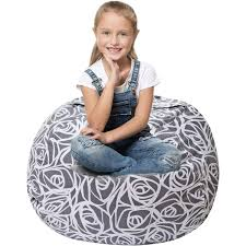 Stuffed Animal Storage Bean Bag - Cover Only - Large Beanbag Chairs For  Kids - 90+ Plush Toys Holder And Organizer For Girls - 100% Cotton Canvas -  ... Childrens Bean Bag Chairs Site About Children Kids White Pool Soothing Company Stuffed Animal Chair For Extra Large Empty Beanbag Kid Toy Storage Covers Your Childs Animals And Flash Fniture Oversized Solid Hot Pink Babymoov Transat Dmoo Nid Natural Amazonde Baby Big Comfy Posh With Removable Cover Teens Adults Polyester Cloth Puff Sack Lounger Heritage Toddler Rabbit Fur Teal Easy With Beans Game Gamer Sofa Plush Ultra Soft Bags Memory Foam Beanless Microsuede Filled Yayme Flamingo Girls Size 41 Child Quality Fabric Cute Design 21 Example Amazon Galleryeptune Premium Canvas Stuffie Seat Only Grey Arrows 200l52 Gal Amazoncom