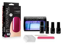 test drive sensationail led at home gel manicure system