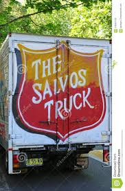 Salvation Army Donations Truck Parked Near William Booth House ...