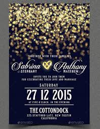 The Wedding Invitation Template Photoshop PSD Format Download