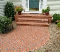 Menards Patio Paver Patterns by Landscape Edging Borders Concrete Patio Expanded With