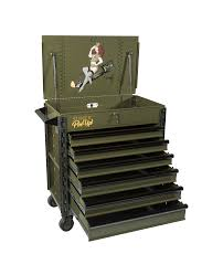 Premium Full Drawer Service Cart-Pin Up Girl Dorothy | Sunex Tools
