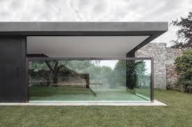 100 Sliding Exterior Walls Vertically Sliding Walls Open Italian Villa Extension To The