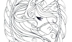 Unicorn Coloring Pages Free Printable For Adults App Flying Org Realistic