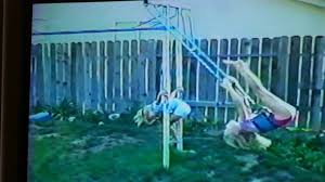 Vintage 1989 - Circus Tricks On Backyard Jungle Gym - YouTube Jungle Club Gym In The Backyard Of Kindergarten Stock Image Online Chalet Swing Playground Accsories Boomtree Multideck Sky 3 Eastern Great Architecturenice Backyards Fascating Plans Fort Firemans Pole Superb Gyms Canada Tower 12ft Swings With Full Height Climbing Ramp Picture With Fabulous Childrens Outdoor Play Ct