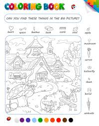 Download Coloring Book Game For Kids Stock Illustration