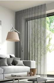 Modern Curtains For Living Room Pictures by Modern Window Treatments Pool The Long Drapes At The Floor For A