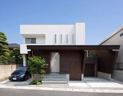104 Japanese Modern House Plans Minimalist Residence Blends Privacy With An Airy Interior