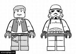 Legos Star Wars Han Solo Storm Trooper Coloring