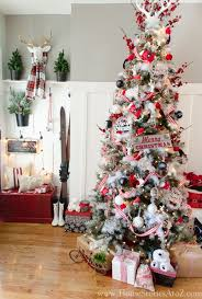 RUSTIC COTTAGE CHRISTMAS TREE BY HOME STORIES A TO Z
