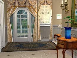 porte de la cuisine manoir anglo normand le rez de chaussée maisons deco sims2