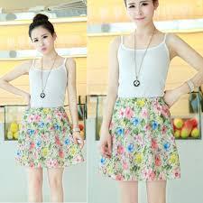 aliexpress com buy summer style skirt women floral pattern