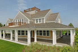 100 Contemporary House Siding Exterior Contemporary Shingle Style Home With Rooftop Balcony Stock Photo