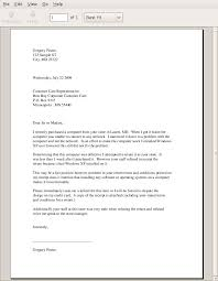 Professional Letter Format Example Write ficial Letter Sample