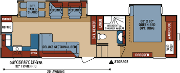 Fifth Wheel Bunkhouse Floor Plans by Rv Reviews Get Our Thoughts On What Rv Is Best