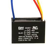 Cbb61 Ceiling Fan Capacitor 2 Wire by Cbb61 Ceiling Fan Capacitor 4 Wire 4 4 5uf Microfarad 250v Ac