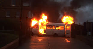 Minibus fire could have been very different school head says