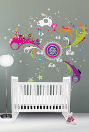 Expand Your Baby s Universe With Nursery Wall Decals — Home Design