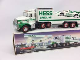 1988 Hess Toy Truck And Racer - | EBay Hess Custom Hot Wheels Diecast Cars And Trucks Gas Station Toy Oil Toys Values Descriptions 2006 Truck Helicopter Operating 13 Similar Items Speedway Vintage Holiday On Behance Collection With 1966 Tanker Miniature 18 Wheeler Racer Ebay Hess Youtube 2012 Rescue Video Review 5 H X 16 W 4 L For Sale Wildwood Antique Malls