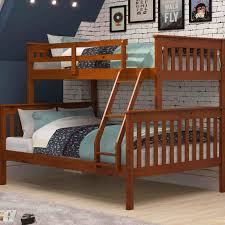 donco kids twin over full bunk bed reviews wayfair