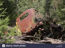 100 1938 International Truck A Cab Abandoned To Rust Stock Photo