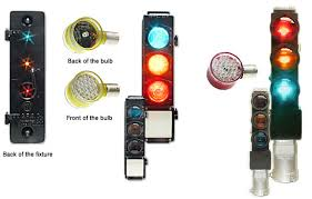 drop in replacement led railroad traffic signal light bulbs