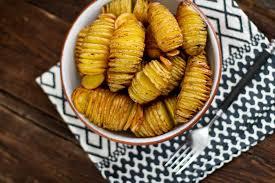 fächerkartoffeln aus dem backofen vom grill