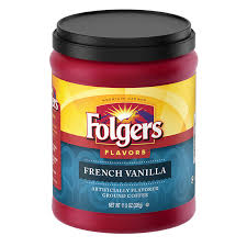 Folgers FlavorsR French Vanilla Flavored Coffee