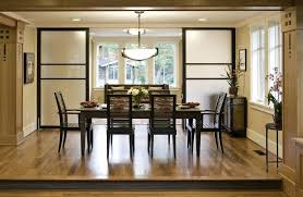 Divide Living Room And Dining Divider Screens Contemporary