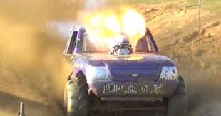 100 Mud Truck Video Purple Monkey Catches Some Serious Nitrous Fire
