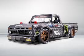 100 Ford Truck F150 Ken Block Has An Awesome New 900hp Pickup Truck