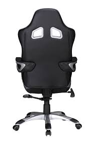 Recaro Desk Chair Uk by Amstyle Speed Racing Executive Desk Chair Black Grey Office Swivel