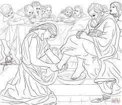 Christ Washing Peters Feet