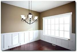 Dining Room Chair Rail And By Candlelight Homes 7 Ways To Improve Paint Colors With Oak