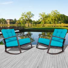 Incbruce Outdoor Patio Rocking Chair 2 Piece Wicker Rocking Bistro Set  W/Washable And Thick Cushion, Garden Conversation Sets With Teal Seat  Cushion The Gripper 2piece Delightfill Rocking Chair Cushion Set Patio Festival Metal Outdoor With Beige Cushions 2pack Fniture Add Comfort And Style To Your Favorite Nuna Wood W Of 2 By Christopher Knight Home Details About Klear Vu Easy Care Piece Maracay Head Java Wicker Enstver Bistro 2piece Seating With Thickened Blue And Brown Amish Bentwood Rocking Chair Augustinathetfordco Splendid Comfortable Chairs Nursing Wooden Luxury Review Phi Villa 3piece