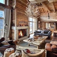 modern log cabin decor – liwenyun