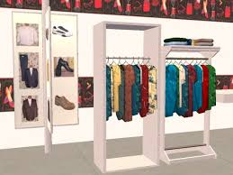 Mod The Sims Fashion Shop Decorative Objectswallhangings For New House Clothes Racks Designs