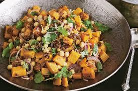 Pumpkin Gnocchi Recipe Nz by Pumpkin And Chickpea Salad