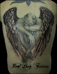 25 Beautiful Angel Tattoos For Girls