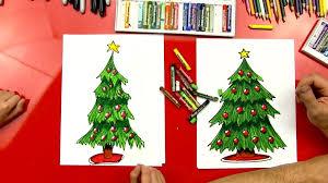 Drawn Christmas Tree Pencil