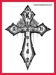 Christian Cross Tattoo Designs Photo