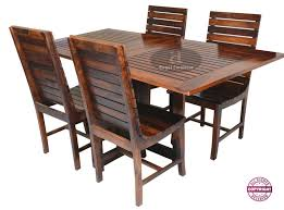 Angel's Modish Solid Sheesham Wood Six Seater Dining Table ... French Style Parisian Cafe Bistro Rattan Ding Chairs Pair Choose A Folding Table For Small Space Adorable Home 2xhome Set Of 2 Modern Plastic Eiffel Side Chair Colors With Natural Wood Dowel Leg For Kitchen Work Bedroom Dsw 37 Foldable Great To Have Around Chair Terje Beech John Lewis Butterfly Drop Leaf And Four Dch1001cset2 Fniture By Safavieh Se18 Folding Chair Natural Ralene Room Extension Ashley Homestore