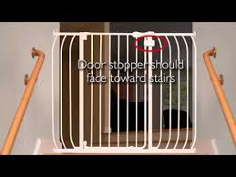 how to install the summer infant multi use walk thru gate youtube