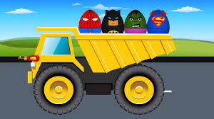 Dump Truck - Monster Trucks For Children - Kids Video - Nursery ...