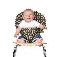 chaise bébé nomade chaise nomade totseat chocolate chaises hautes nomades totseat
