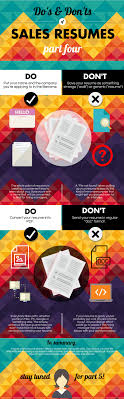 Do's And Don'ts Of Sales Resumes, Part 4 [Infographic ... How To Write A Resume 2019 Beginners Guide Novorsum Ebook Descgar Job Forums Valerejobscom 1 Basic Resume Dos And Donts Pdf Formats And Free Templates Tutorialbrain Build A Life Not Albatrsdemos The Dos Donts Writing Rockin Infographic Top Writing Tips Get An Interview Call Anatomy Of How Code Uerstand Visually Why You Should Go To Realty Executives Mi Invoice Format Donts Services For Senior Cv Guides Student Affairs