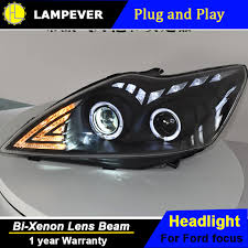 hlc car styling for ford focus headlights 2009 2013 focus 2 led