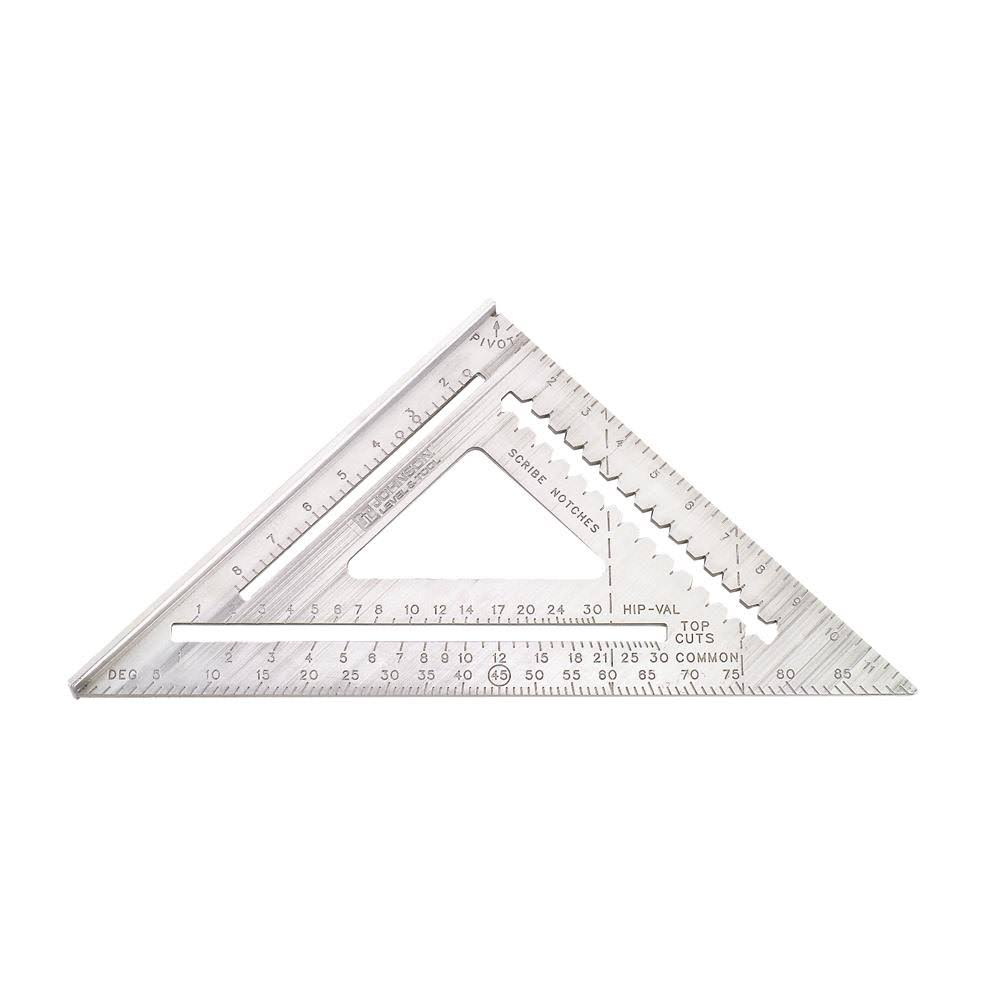 Johnson Level & Tool RAS-120 Aluminium Rafter Angle Square