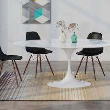 Fritz Hansen SuperElliptischer Tisch 70 X 150 X 100 Cm Weiß
